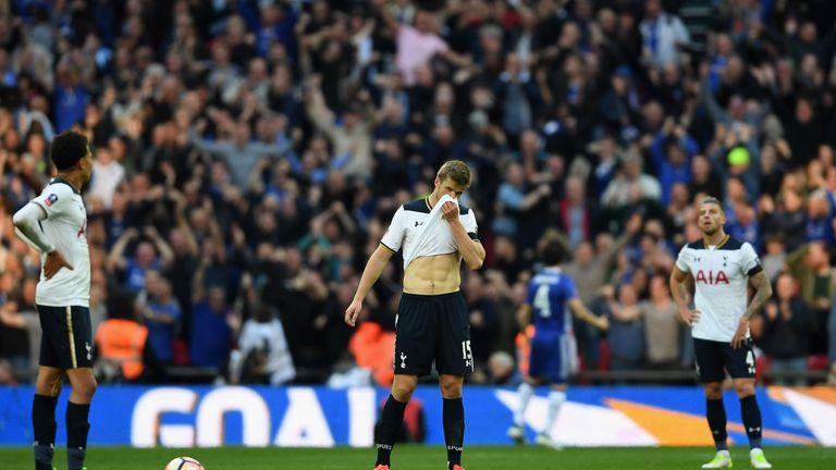 Tottenham have lost seven FA Cup semi-finals in a row