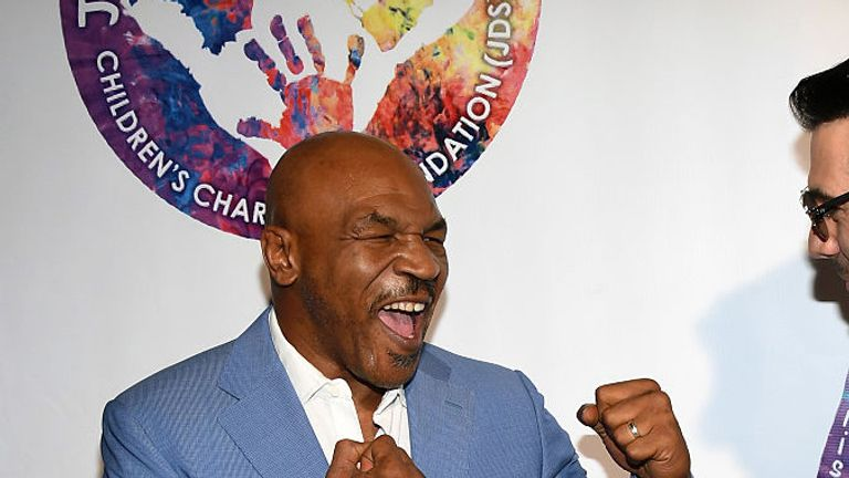 Tyson broke fighters before they climbed in the ring, says Joshua
