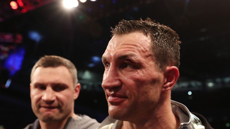 Klitschko had not been stopped for over a decade before running into Joshua