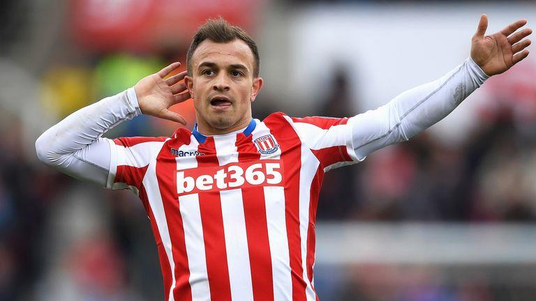 Xherdan Shaqiri is available for Stoke