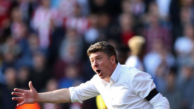 Walter Mazzarri admits that, for most Premier League teams, 40 points is the holy grail