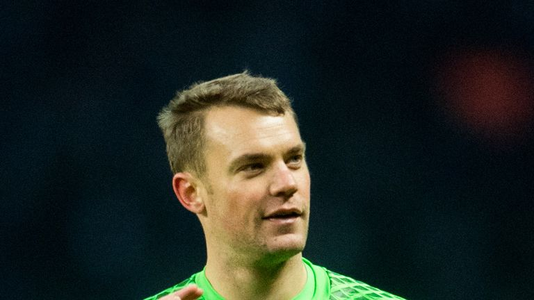 Manuel Neuer is set to be Germany's number one at the World Cup