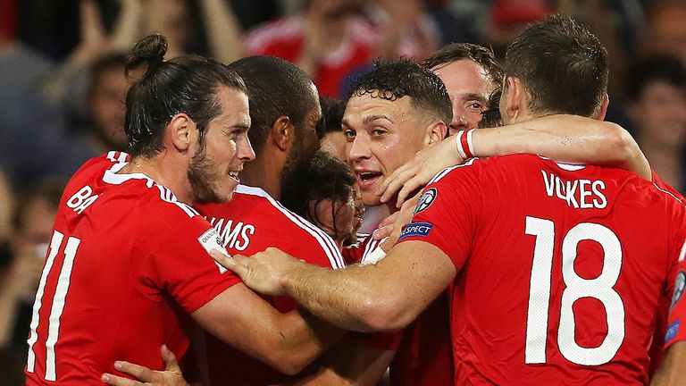 Wales host the Republic of Ireland in Cardiff on Monday night