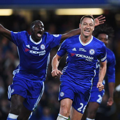 Terry scores in thriller