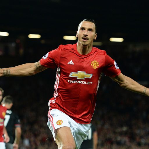 Man Utd name Ibrahimovich in Champions League squad