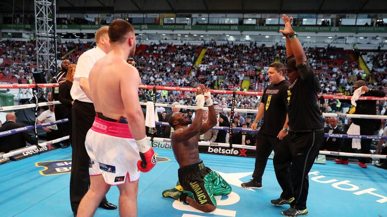 Allen changed his attitude after Commonwealth title defeat by Lenroy Thomas