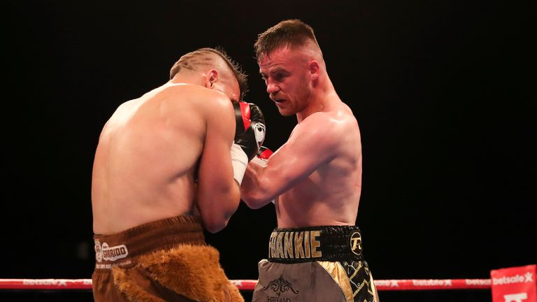 Frankie Gavin returned with a points victory over Renald Garrido