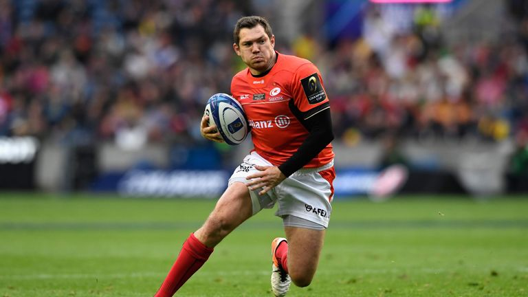 Alex Goode was in superb form for Saracens on Saturday