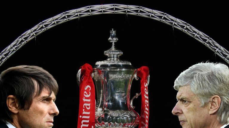 Wenger and Antonio Conte will go head-to-head in Saturday's FA Cup final