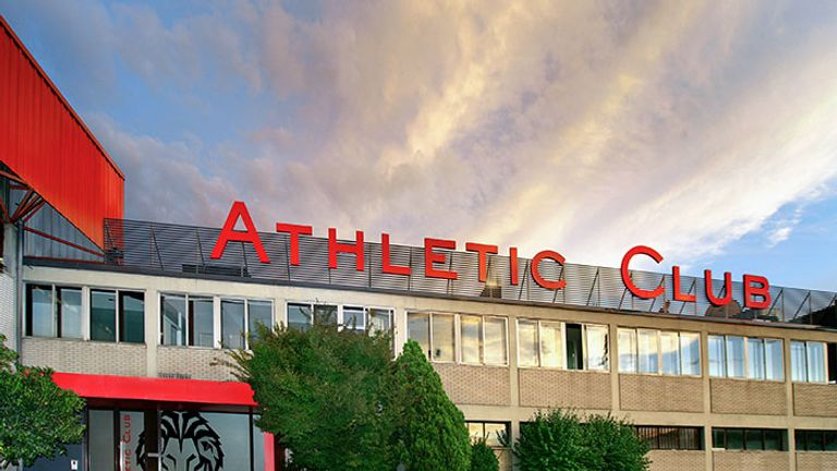 Athletic's Lezama training ground is located a few miles outside of Bibao