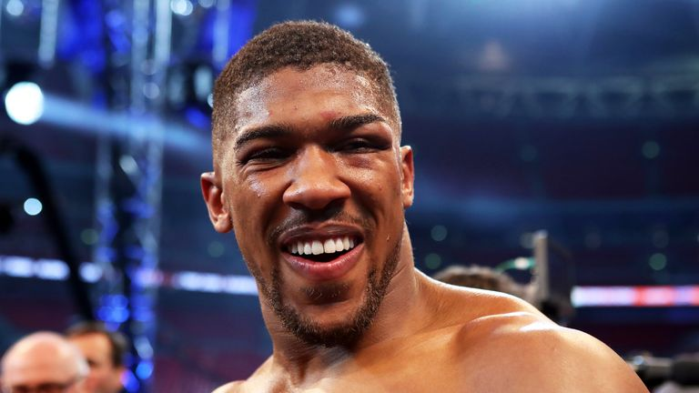 Anthony Joshua wants his next fight to be in Cardiff | Boxing News | Sky Sports