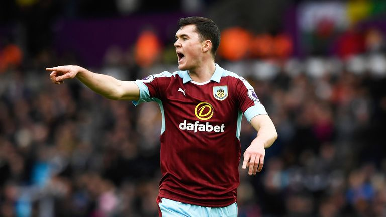 Michael Keane has reflected on concussion he suffered at Burnley in 2016