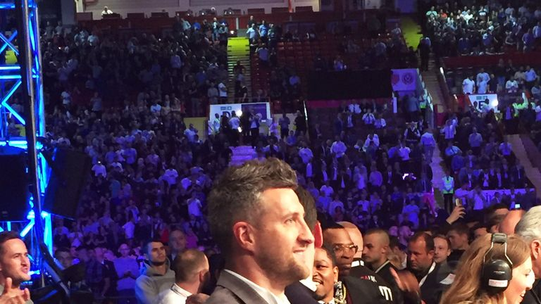 Froch gave a standing ovation after Groves claimed a world title