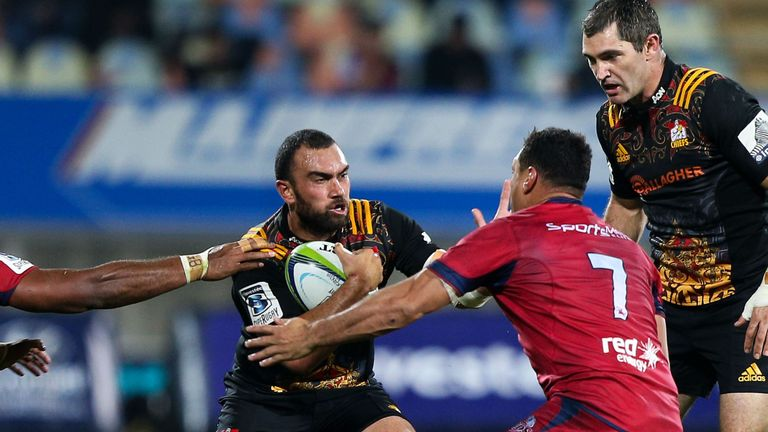 a welcome return to action for Charlie Ngatai