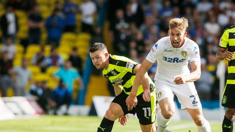Charlie Taylor has joined Burnley on a four-year deal after leaving boyhood club Leeds United