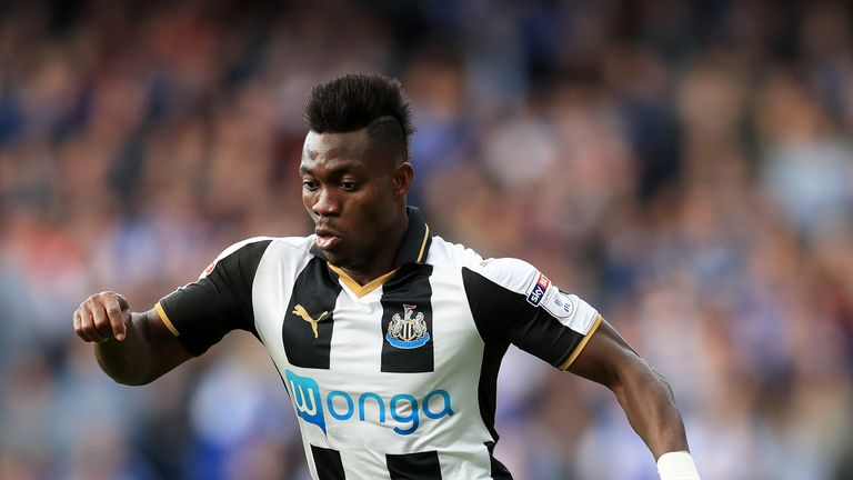 Christian Atsu will join Newcastle on a four-year deal on July 1 - Sky sources understand