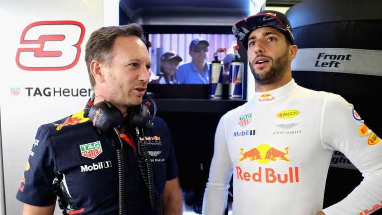 Christian Horner has planned talks with Daniel Ricciardo over his contract next year