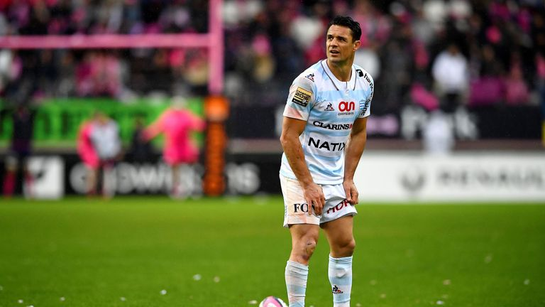 Dan Carter is in his third season with Racing 92