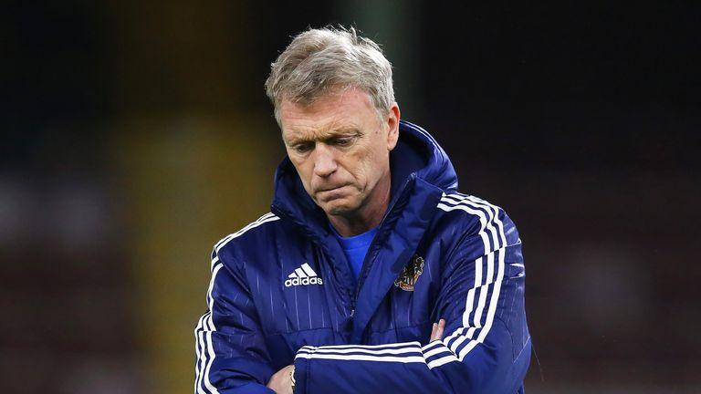 Moyes endured a miserable spell at Sunderland that ended in relegation