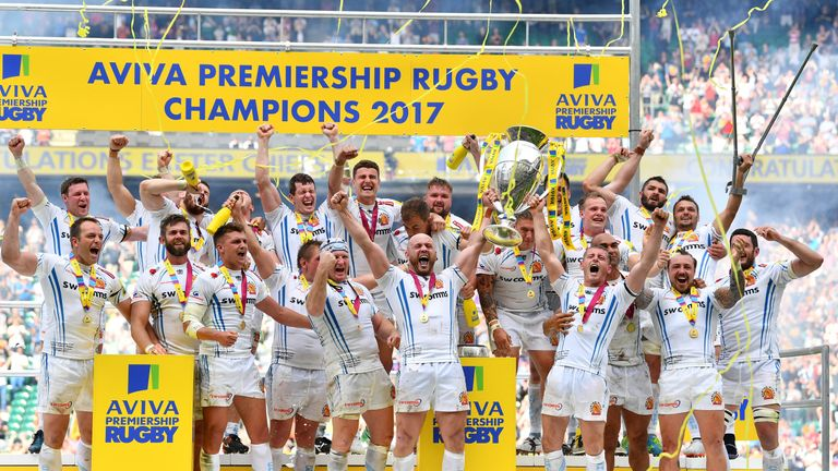 Exeter defeated Wasps in a extra-time thriller in May to win their maiden Premiership title
