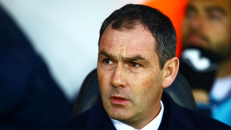 Paul Clement has no intention of leaving Swansea if they are relegated from the Premier League