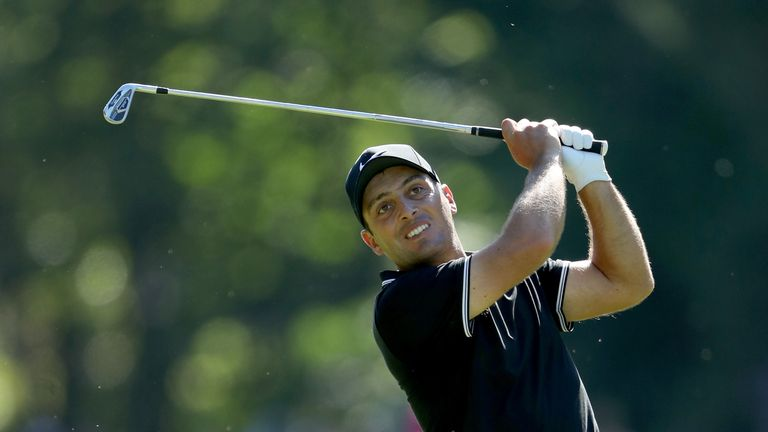 Francesco Molinari is one of three players tied on seven under