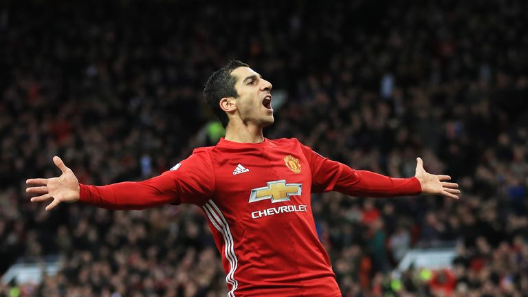 Mkhitaryan joined United for around £30m from Borussia Dortmund last summer