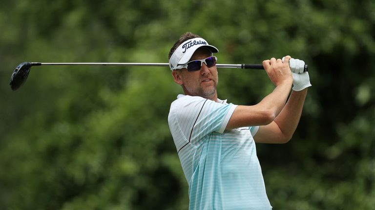 Ian Poulter made one birdie and 17 pars in his 71