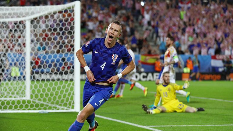 Perisic has scored 16 goals in 56 international appearances for Croatia