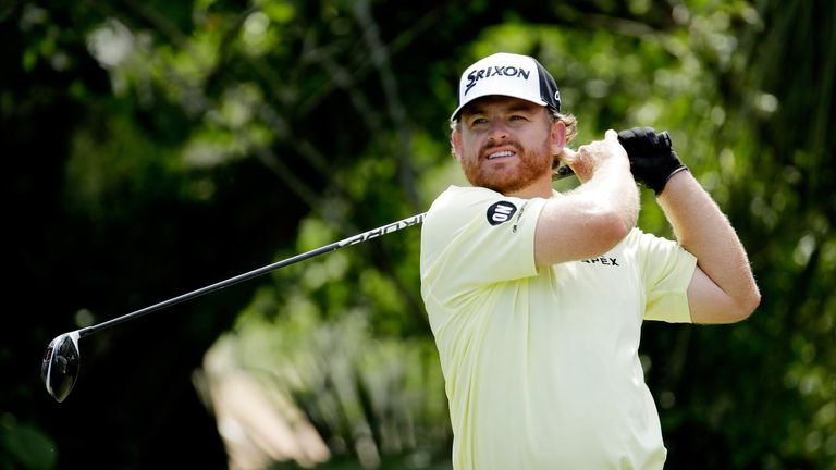 JB Holmes shares the lead with fellow American Kyle Stanley