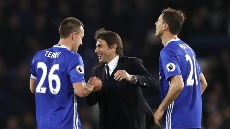 Antonio Conte's Chelsea need three points to secure a second Premier League title in three seasons