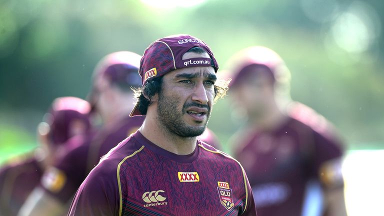 The loss of Jonathan Thurston is a big blow for Queensland