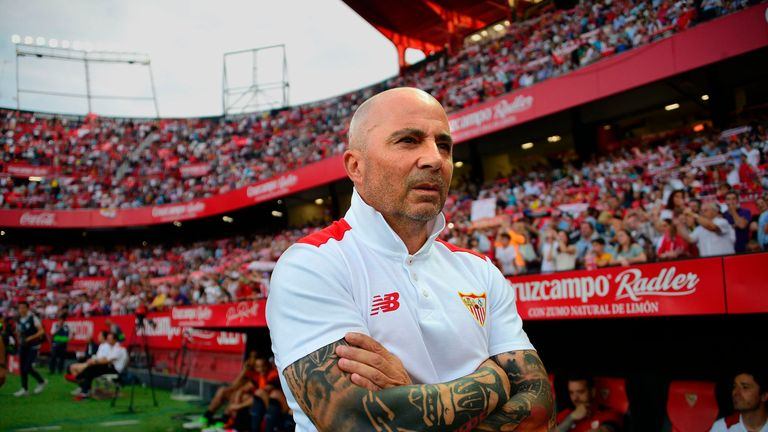 Argentinian coach Jorge Sampaoli saluted the efforts of Messi