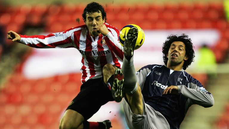 Arca also played for Sunderland