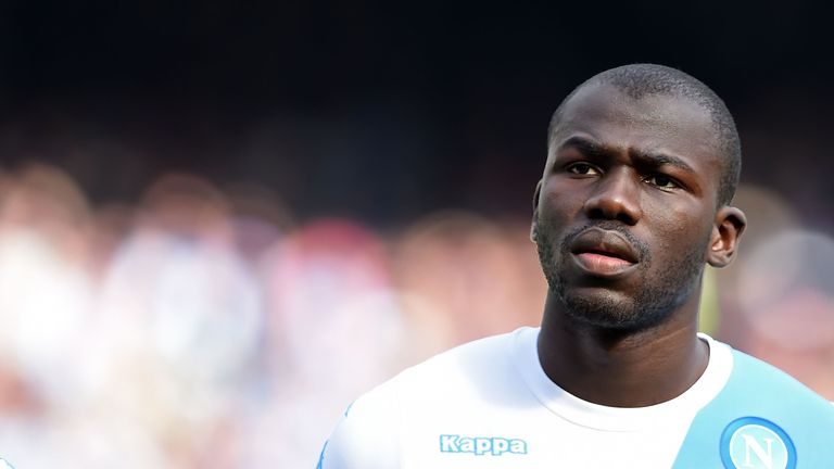 Napoli reportedly value Chelsea target Kalidou Koulibaly at £70m