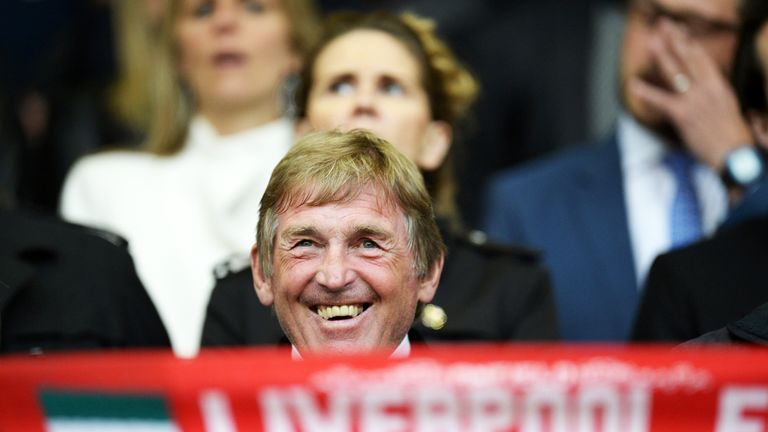 Kenny Dalglish will be in charge of Liverpool's Legends at the Aviva Stadium