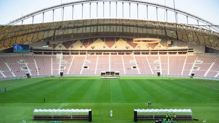 The Khalifa International Stadium was the first 2022 World Cup venue to be completed