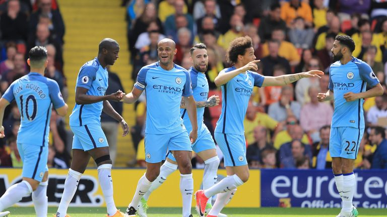 Man City finished the Premier League season in third place