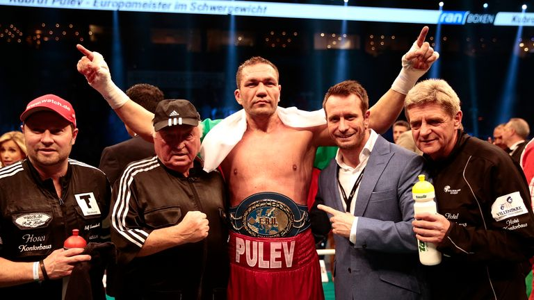 Kubrat Pulev would be willing to challenge Anthony Joshua in front of his own fans