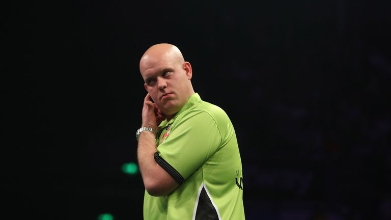 Michael van Gerwen suffered defeat to Snakebite in the final in Germany