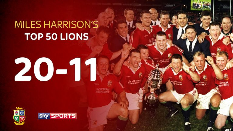 Miles Harrison is picking his 50 greatest Lions in the build-up to the tour to New Zealand