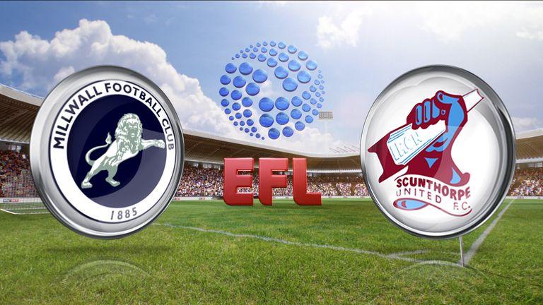 Millwall v Scunthorpe United