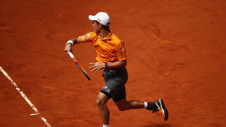 Murray will face Japan's Kei Nishikori in the last eight