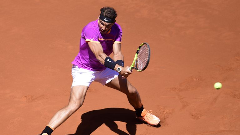 Nadal has now won 14 successive matches on the clay-courts and will target a third title of the year on Sunday