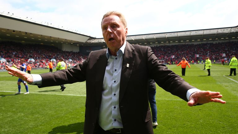 Harry Redknapp guided Birmingham to safety on the final day of the 2016-17 Sky Bet Championship season