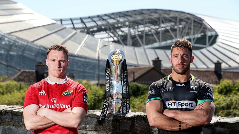Webb and the Ospreys made the semi-finals of last year's PRO12