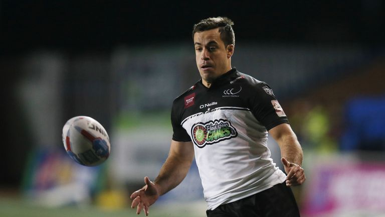 Widnes winger Corey Thompson scored twice in the victory