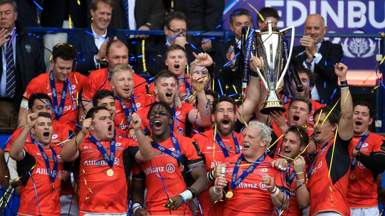 Saracens won their second straight Champions Cup last season