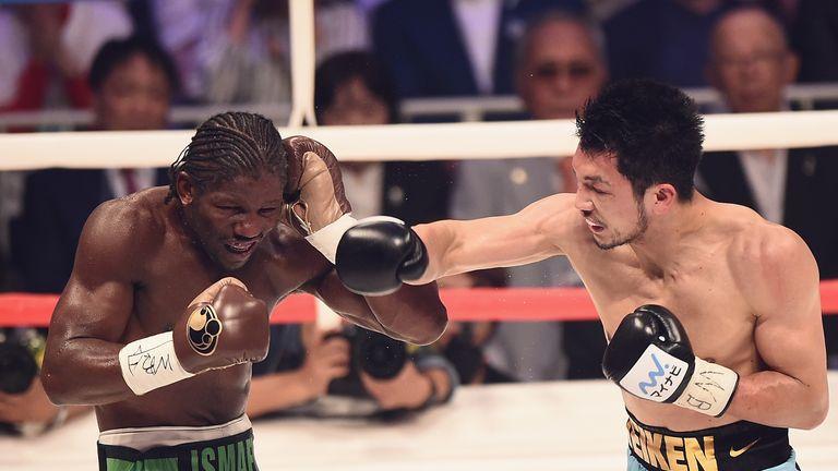 Japan's Ryota Murata defeated Hassan N'Dam N'Jikam for the WBA middleweight crown