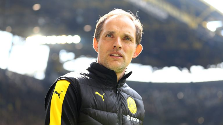 Thomas Tuchel during the Bundesliga match between Borussia Dortmund and 1. FC Köln at Signal Iduna Park